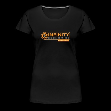 Infinity Economics Accepted Here - Women's Premium T-Shirt