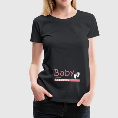 Mum! Pregnant! Pregnancy! Parents! Birth! - Women's Premium T-Shirt