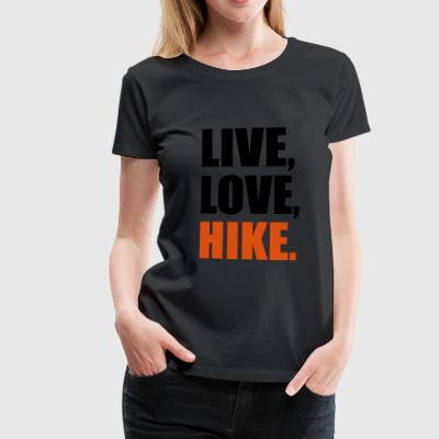 2541614 14134908 hike - Frauen Premium T-Shirt