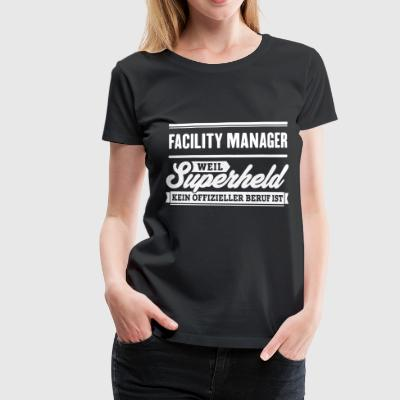 Superheld Facility Manager - Frauen Premium T-Shirt
