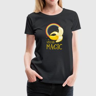 Vegan Magic - Dame premium T-shirt