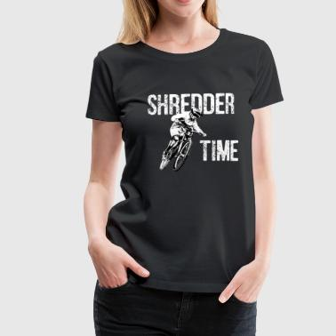 Shredder timebike - Women's Premium T-Shirt