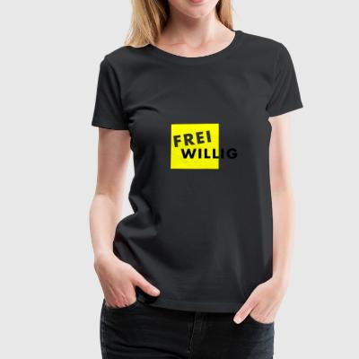 FREI WILLIG - Frauen Premium T-Shirt