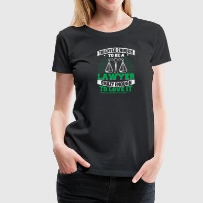 TALENTED lawyer - Women's Premium T-Shirt