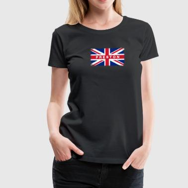 Preston Shirt Vintage United Kingdom Flag T-Shirt - Women's Premium T-Shirt