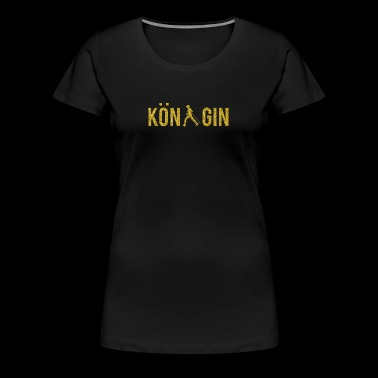 Königin Sportart Nordic Walking - Frauen Premium T-Shirt