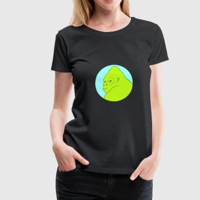 Green Yeti - Women's Premium T-Shirt