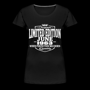 Limited edition june 1963 - Women's Premium T-Shirt