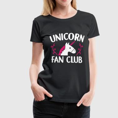 Unicorn Fan Club Unicorns Fan Club Gift - Women's Premium T-Shirt
