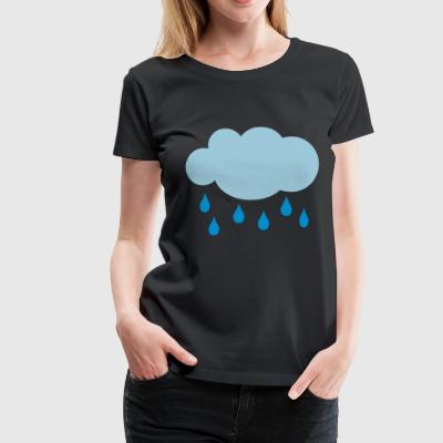 2541614 15252521 Cloud - Premium T-skjorte for kvinner