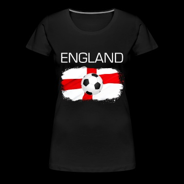 England football fan flag gift - Women's Premium T-Shirt
