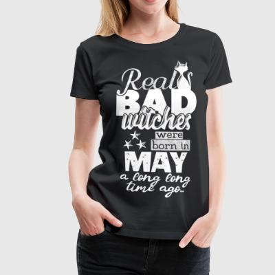 Mai Geburtstag Zwillinge born in May lustiger Bday - Frauen Premium T-Shirt