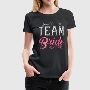 Team Bride - Hen Party JGA Bride Alk - Dame premium T-shirt