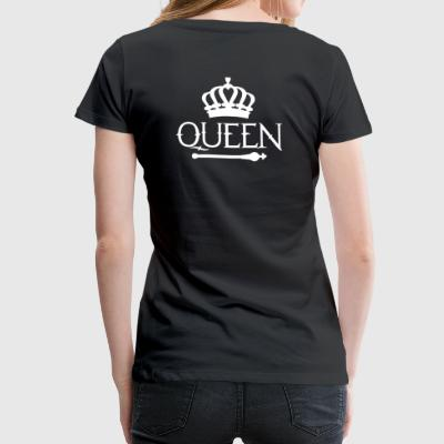 Queen Queen Princess - Premium T-skjorte for kvinner
