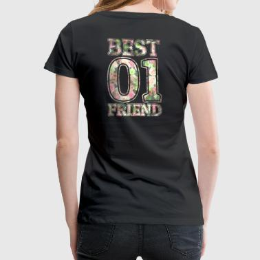 Best Friend - Premium-T-shirt dam