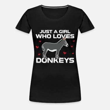Donkey S-Je suis juste une plus heureuse personne quand avec mon Standard Unisexe T-Shirt
