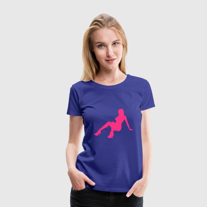 sexy girl 8 - Women's Premium T-Shirt