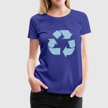 Recycling for the World - Premium-T-shirt dam