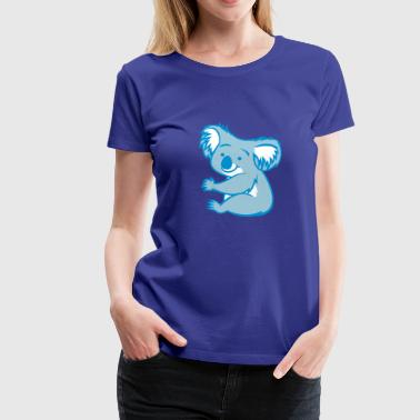 koala cling - Women's Premium T-Shirt