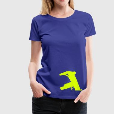 Uzi Sub Machine Gun - Women's Premium T-Shirt