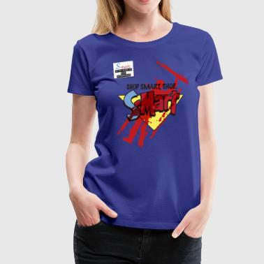 S-Mart - blood splatter (inspired by Evil Dead: Ar - Women's Premium T-Shirt