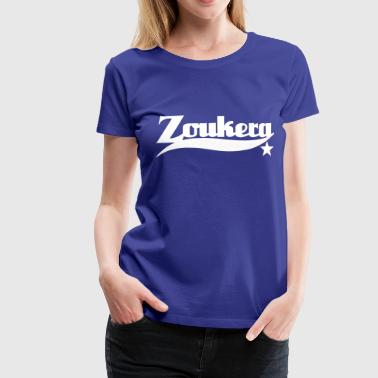 Zoukera Star - Zouk Dance Shirt - Premium T-skjorte for kvinner