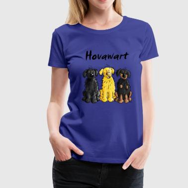 Hovawart – Hovi – Dog – Shirt Design - Women's Premium T-Shirt