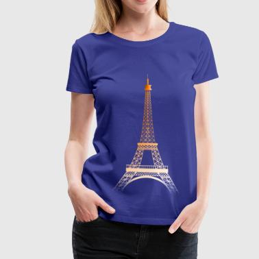 Tour Eiffel Tour Eiffel ORANGE - T-shirt Premium Femme