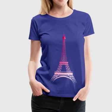 Tour Eiffel PARIS (rose) - T-shirt Premium Femme