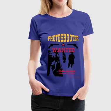 Photoshooter 2 - Frauen Premium T-Shirt
