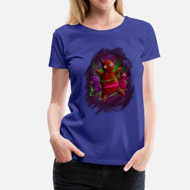 Monster dolls - Frauen Premium T-Shirt