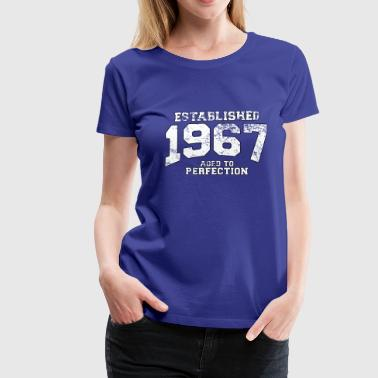 established 1967 - aged to perfection (uk) - Women's Premium T-Shirt
