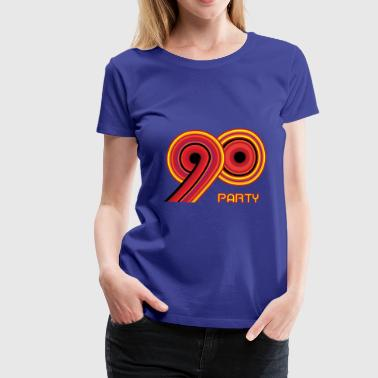 90 90's party - Vrouwen Premium T-shirt