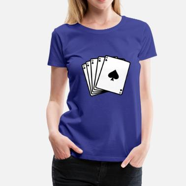 Royal Club Royal  - Poker - Maglietta Premium da donna