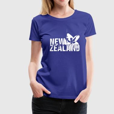 New Zealand - Premium T-skjorte for kvinner