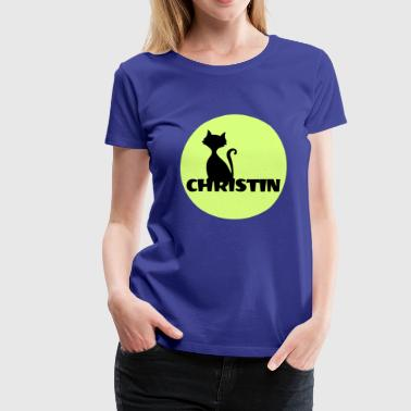 Christin Name Vorname - Frauen Premium T-Shirt