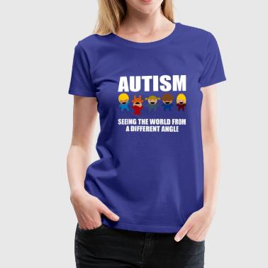 Autisme Awareness Gave T-shirt - Dame premium T-shirt