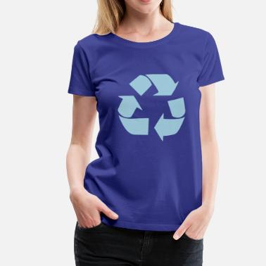 Miljö Recycling for the World - Premium-T-shirt dam
