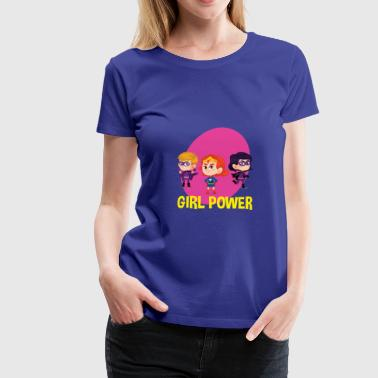 Girl Power Great Feminist - Camiseta premium mujer