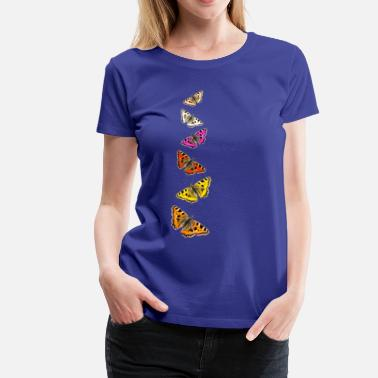 Collage Butterfly Collage - Vrouwen Premium T-shirt