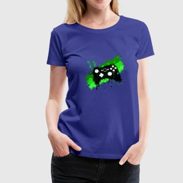 Box Graffiti Gamer - Women's Premium T-Shirt