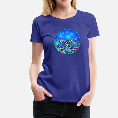 Mermaid fin, fish, whale, fish, sea, whales - Women's Premium T-Shirt