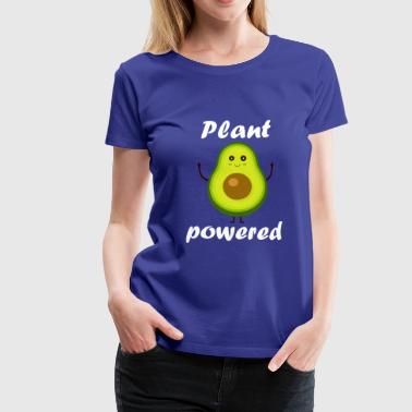 Plant Powered - Avocado Vegan Vegan Vegan - Women's Premium T-Shirt
