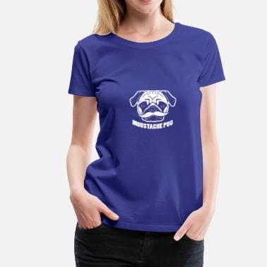 Schnauzer Gentleman Dog with Schnauzer - Women's Premium T-Shirt