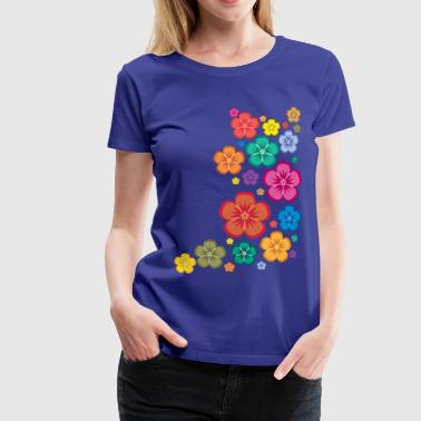 New Age Flower Power - Frauen Premium T-Shirt