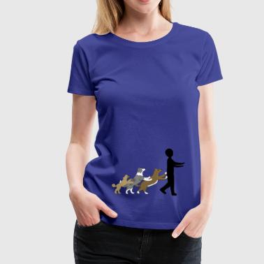 Dog Dancing 5 - Frauen Premium T-Shirt