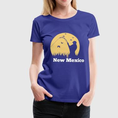 Fly Fishing in New Mexico - Women's Premium T-Shirt
