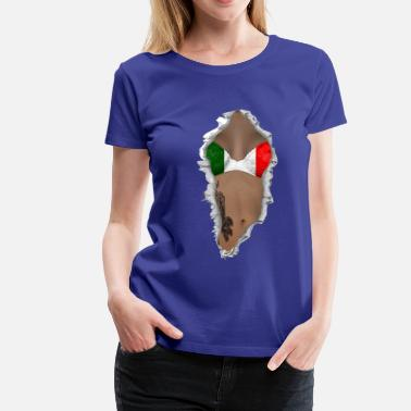Sex Italy sexy flag italy - Women's Premium T-Shirt