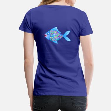 Fatty Fatty the Fish - Women's Premium T-Shirt