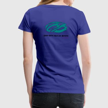 Topless without just on the beach - Women's Premium T-Shirt